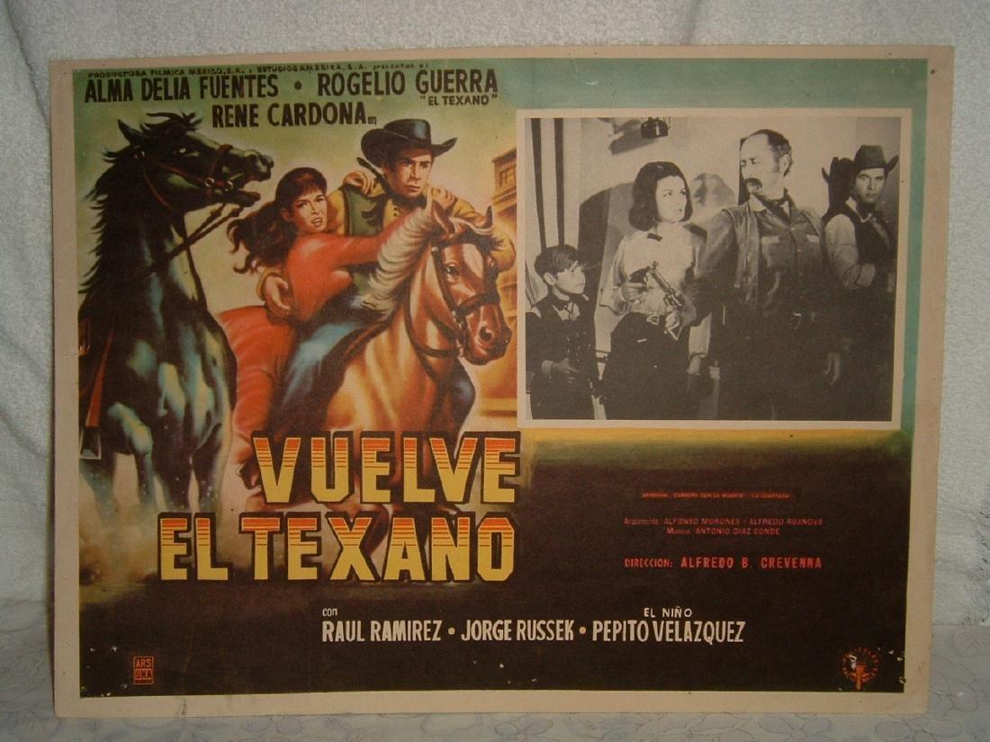 Vuelve El Texano 1966  Poster