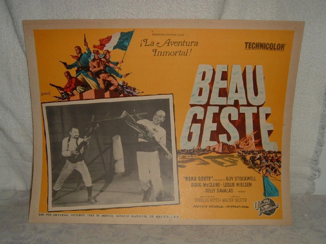 Beau Geste 1939 Poster