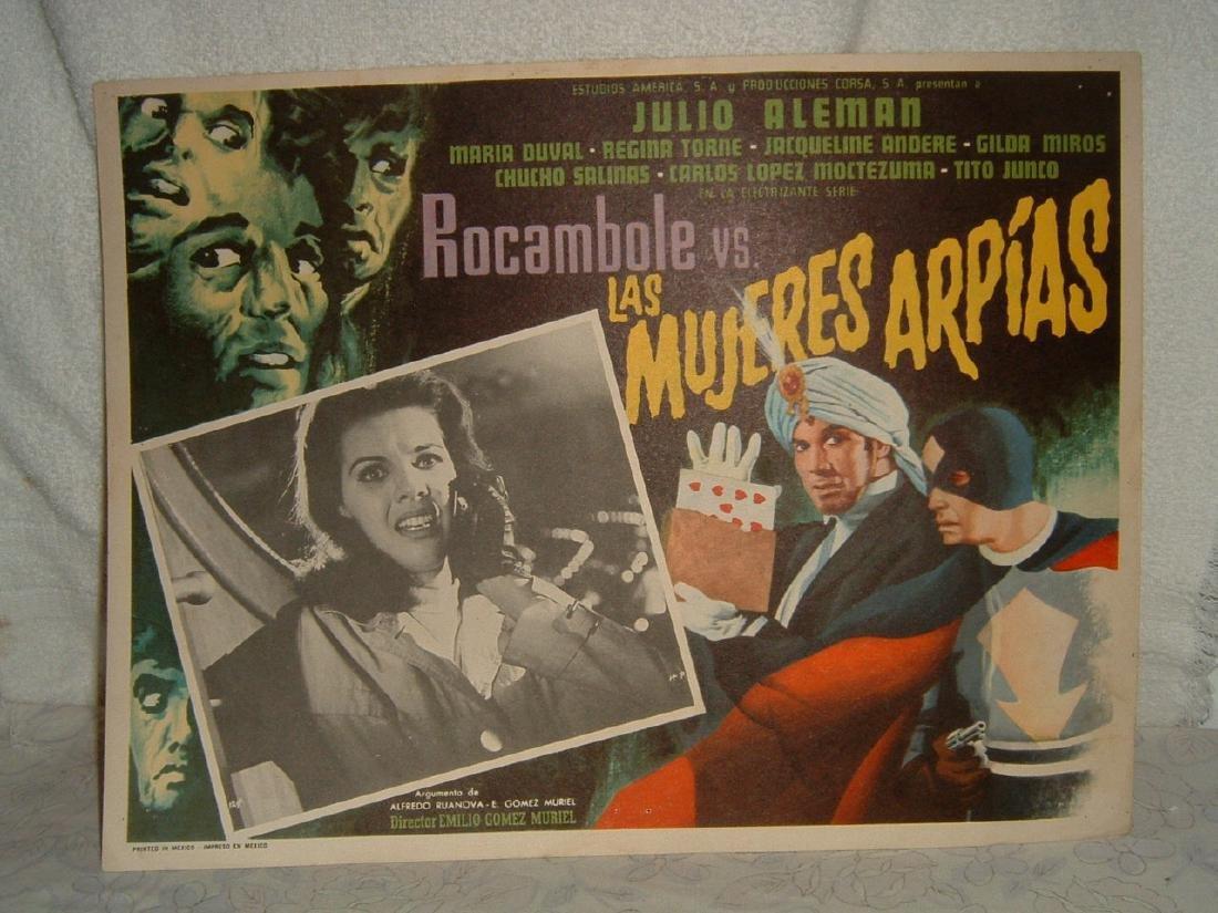 Las Mujeres Arpias 1967 Poster