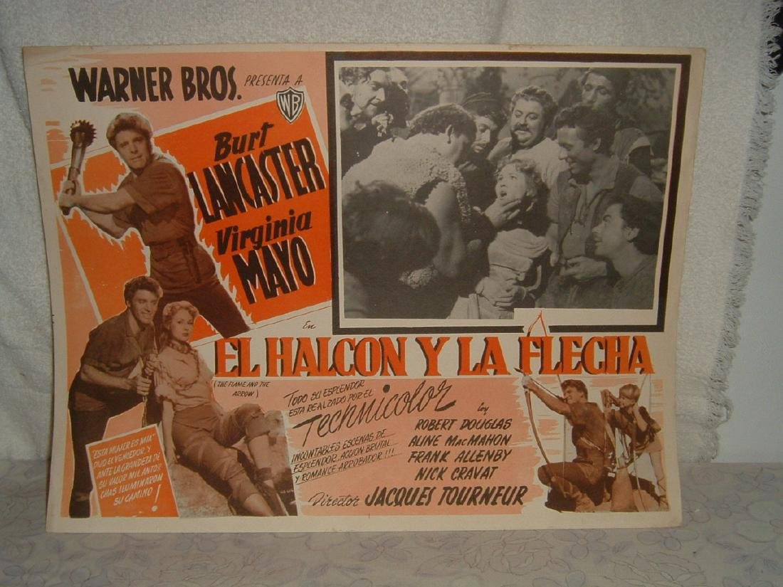 The Flame & the Arrow 1950 Poster