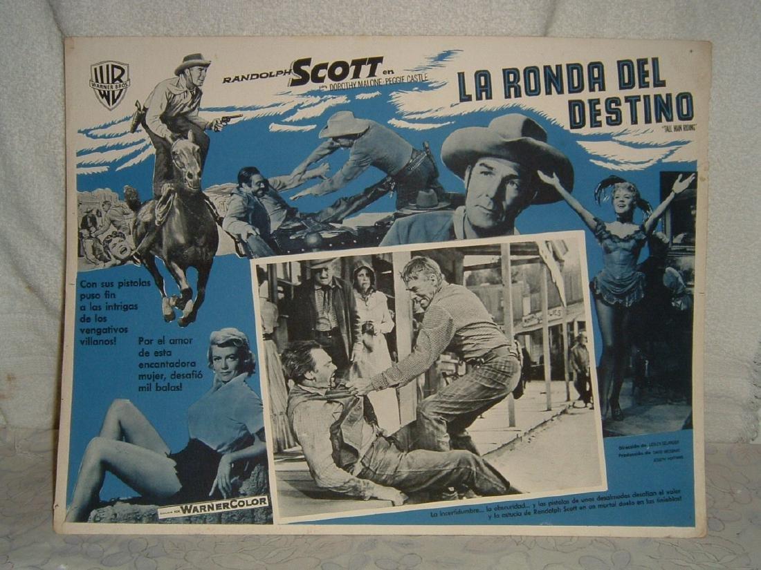 Tall Man Riding 1955 Poster