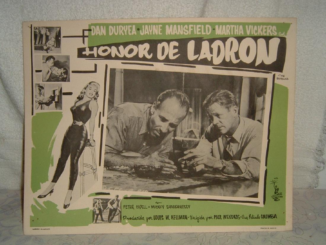 The Burglar 1957 Poster