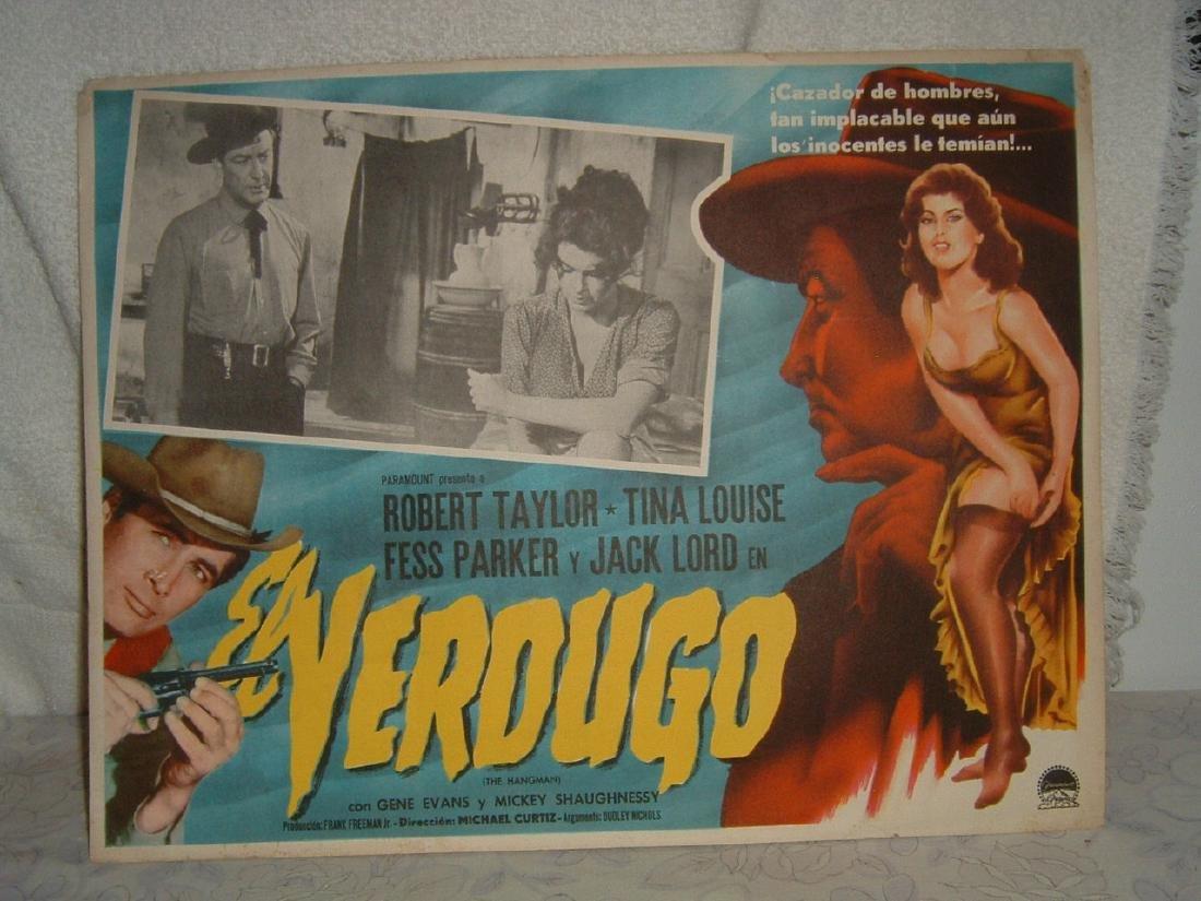 The Hangman 1957 Poster
