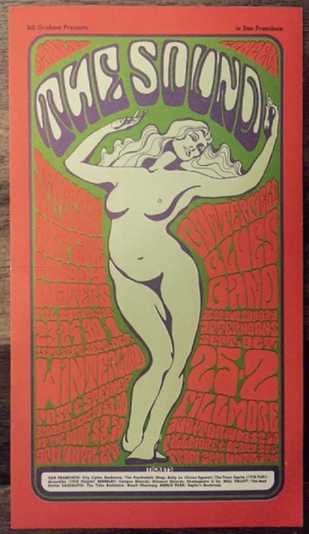 Jefferson Airplane Original 1966 Handbill Poster