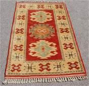 Handmade Turkish Konya Wool Rug 211 x 50