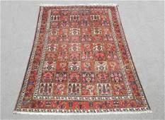 """Semi Antique Persian Bakhtiari Wool Rug 6'10"""" x 9'9"""""""