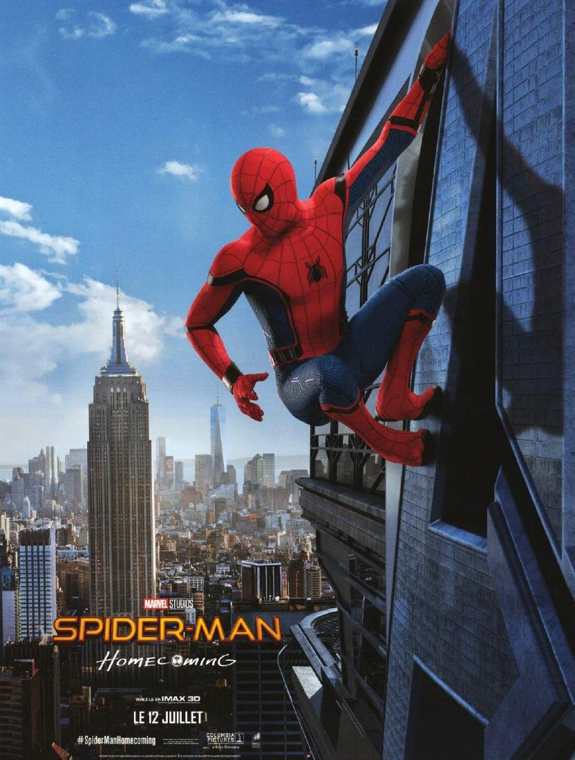 SPIDER-MAN HOMECOMING 2017 Tom HOLLAND poster