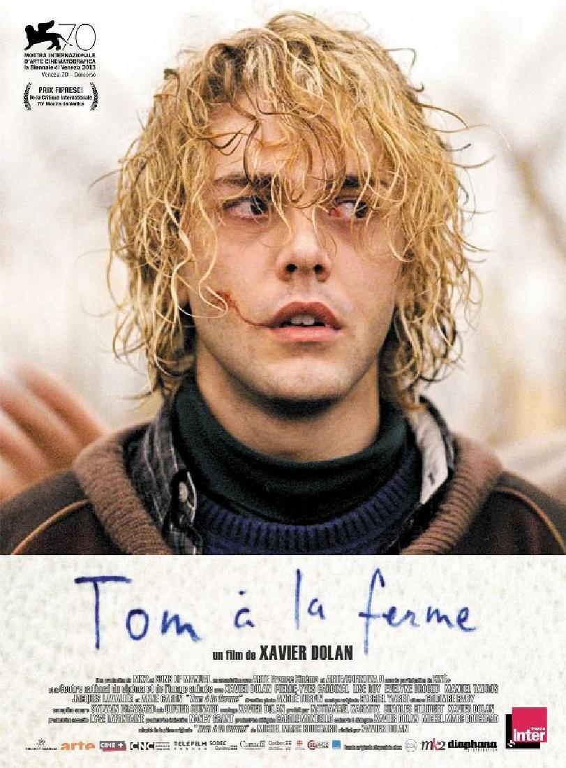 TOM A LA FERME 2012 poster