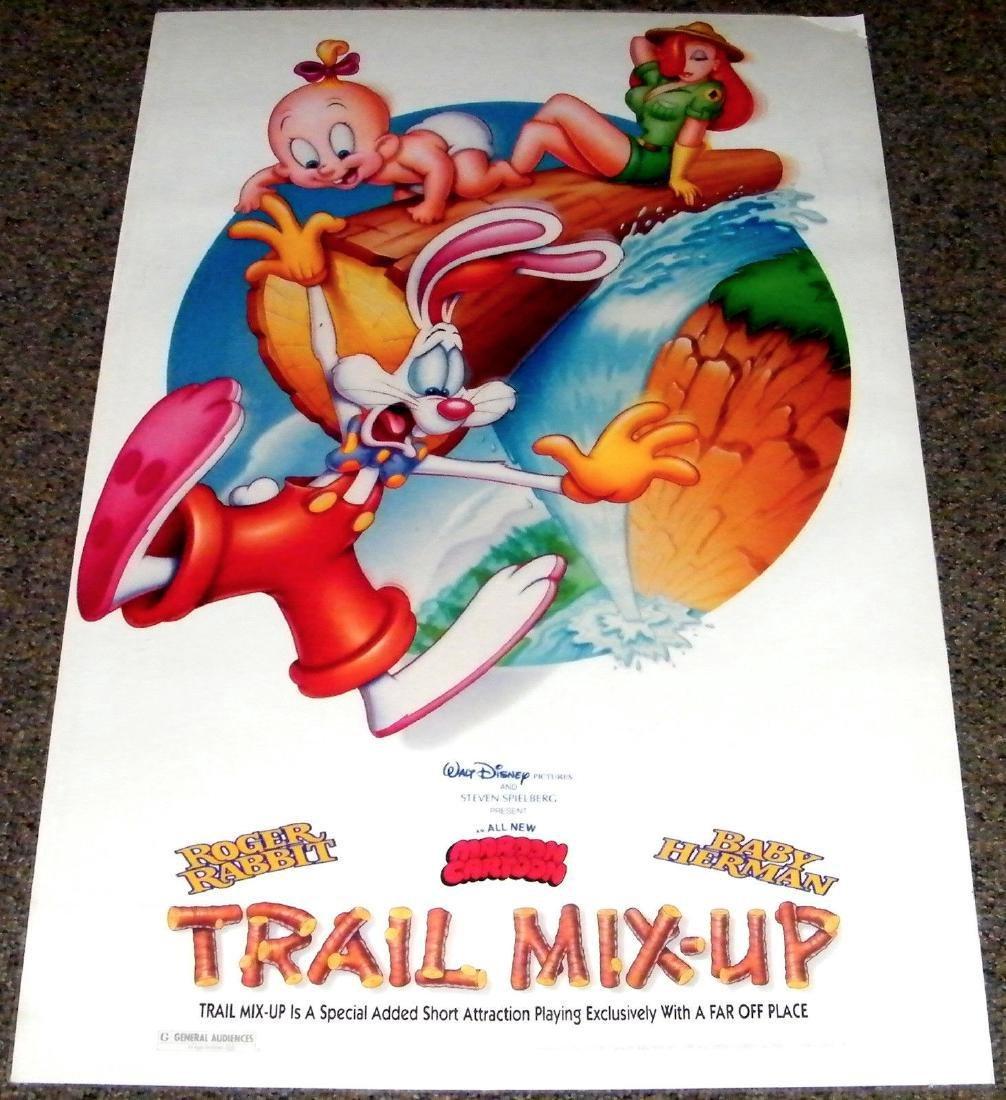 TRAIL MIX-UP 1993 ORIGINAL poster