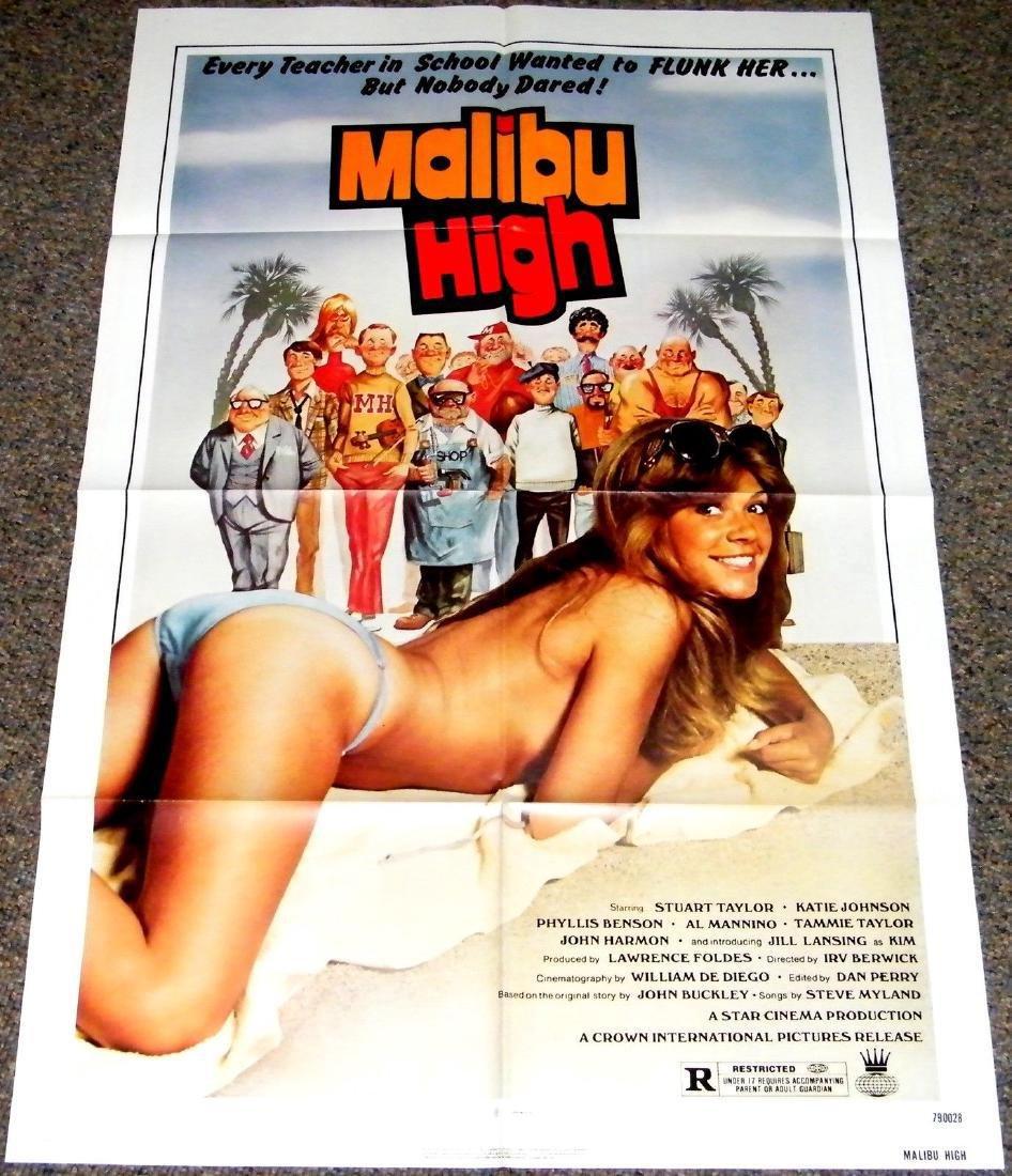 MALIBU HIGH 1979 ORIGINAL poster