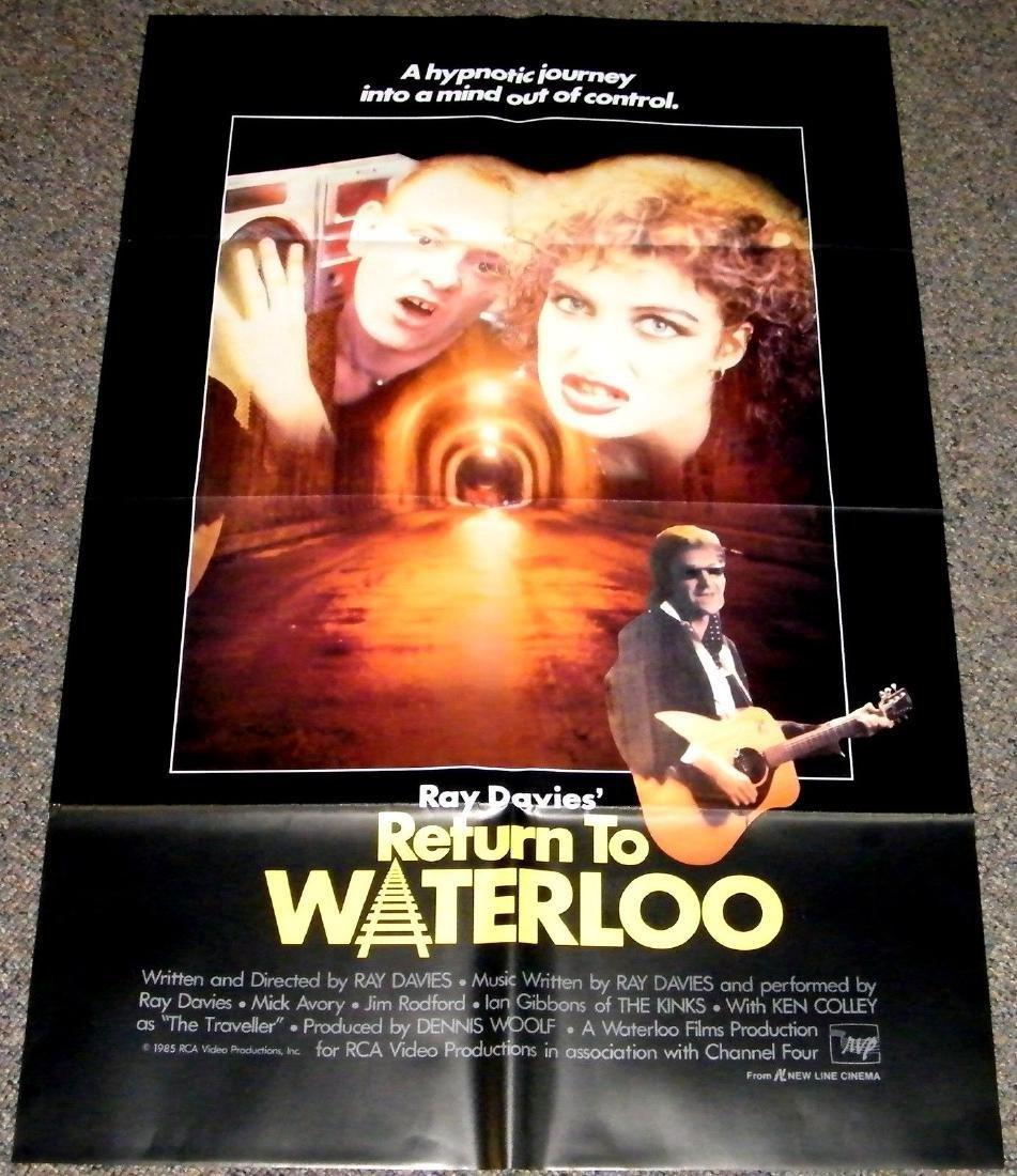 RETURN TO WATERLOO 1985 ORIGINAL poster