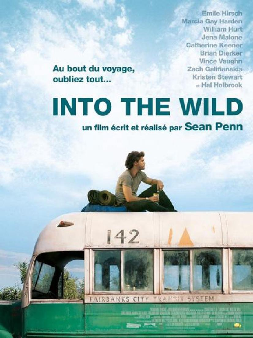 INTO THE WILD 2008 Emile HIRSCH poster