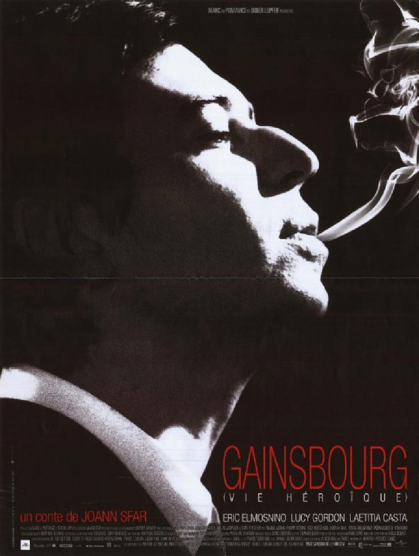 GAINSBOURG (VIE HEROIQUE) poster