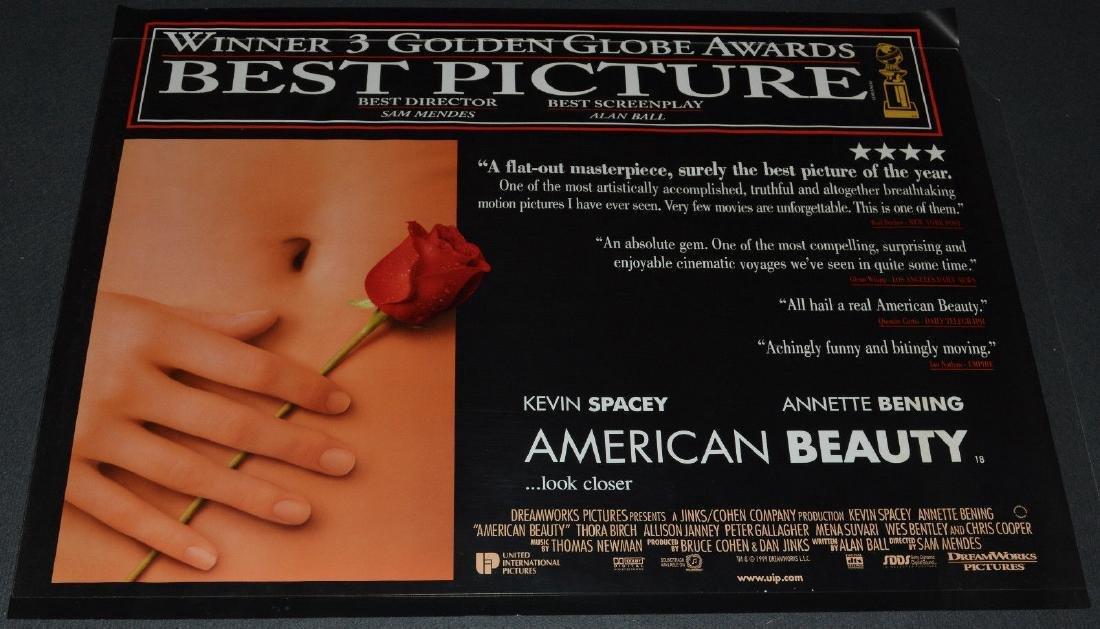 Sam Mendes' AMERICAN BEAUTY 1999 Original poster