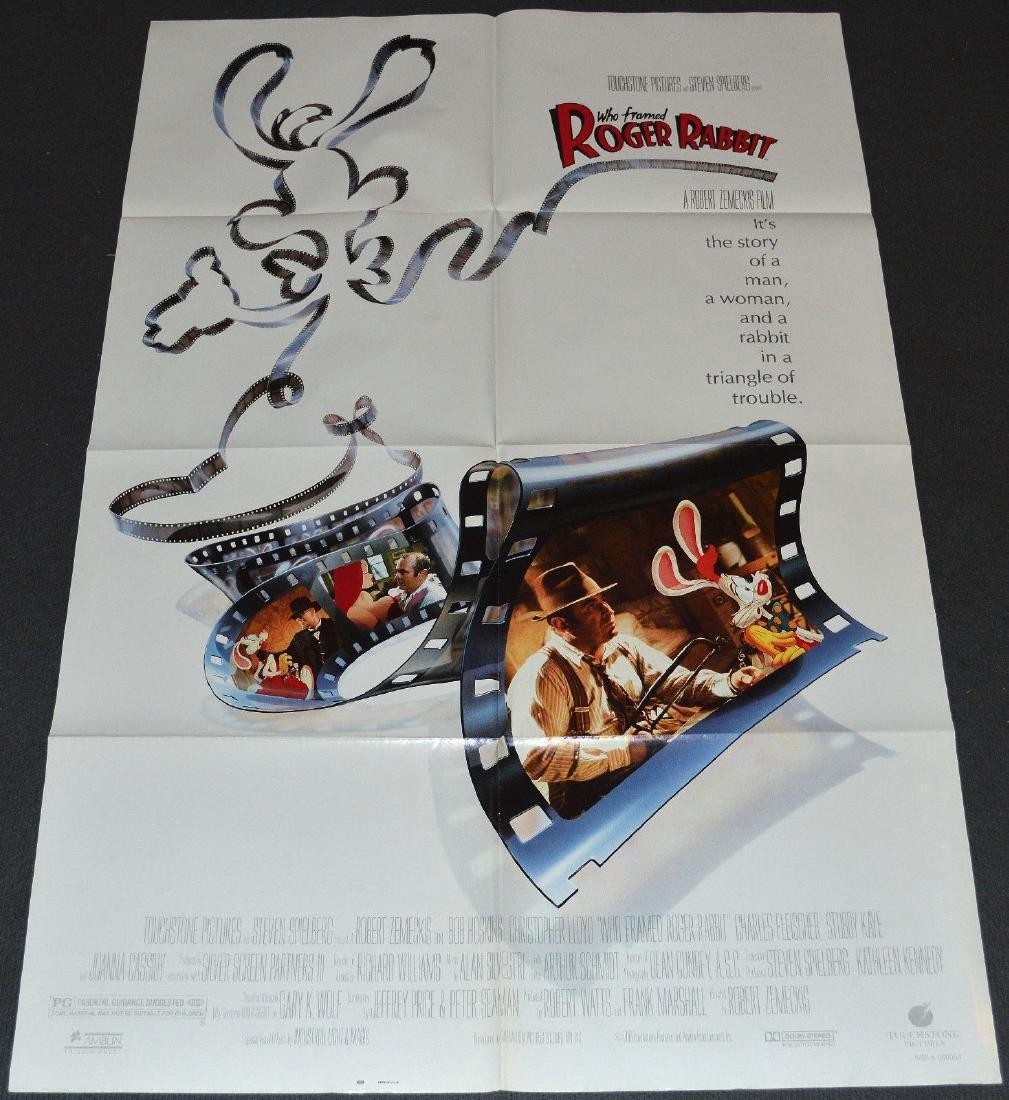WHO FRAMED ROGER RABBIT? 1988 poster