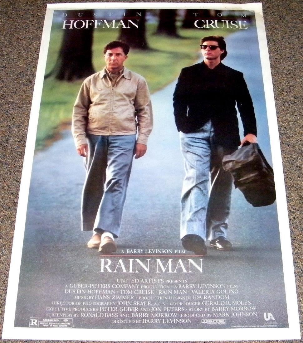 RAIN MAN 1988 Original poster
