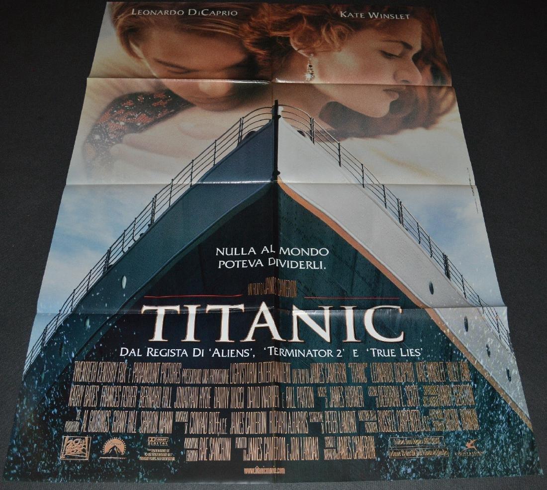 James Cameron's TITANIC 1997 ORIGINAL poster