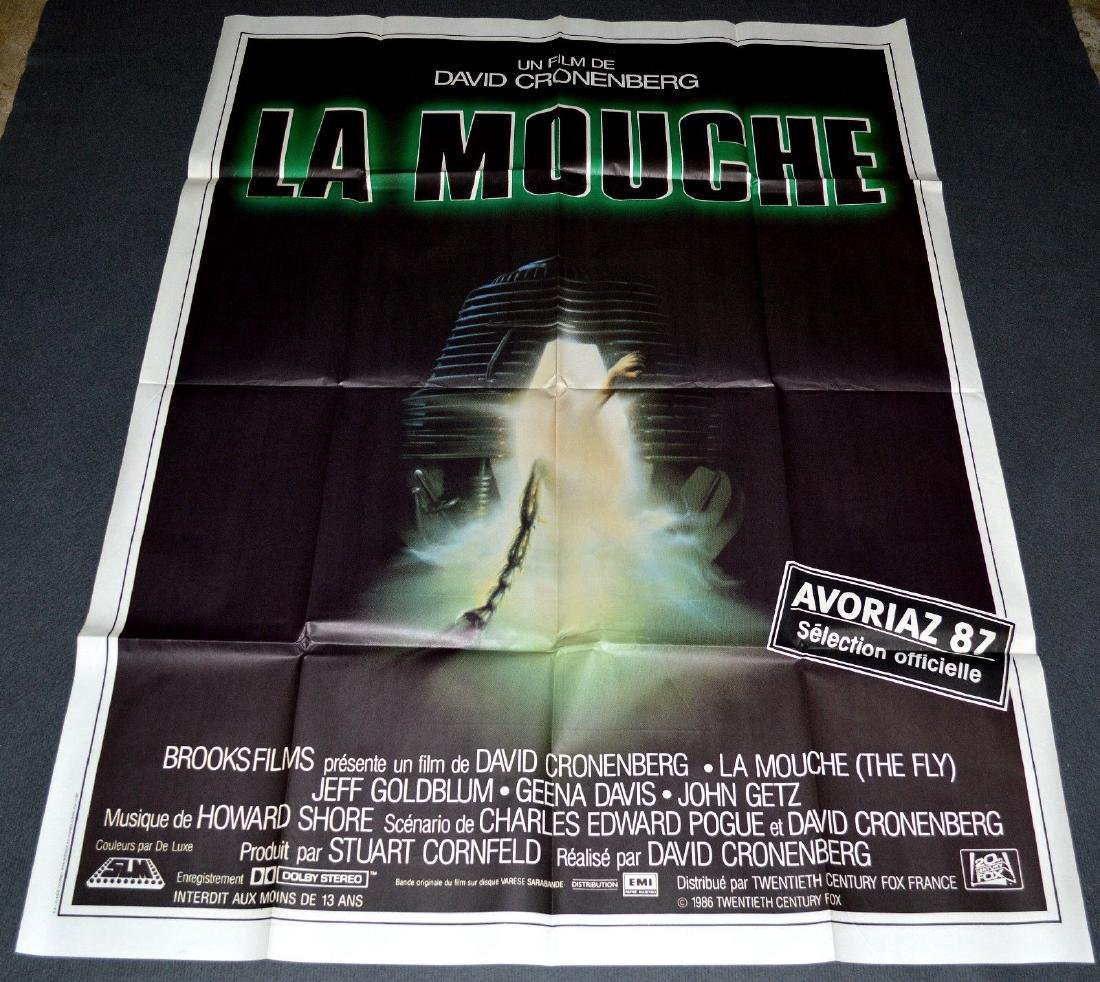 THE FLY 1986 ORIGINAL poster