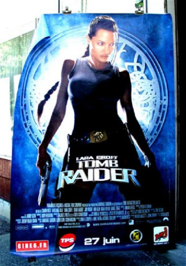 Tombraider 2001 Angelina Jolie Poster French R M Jul 02 2017