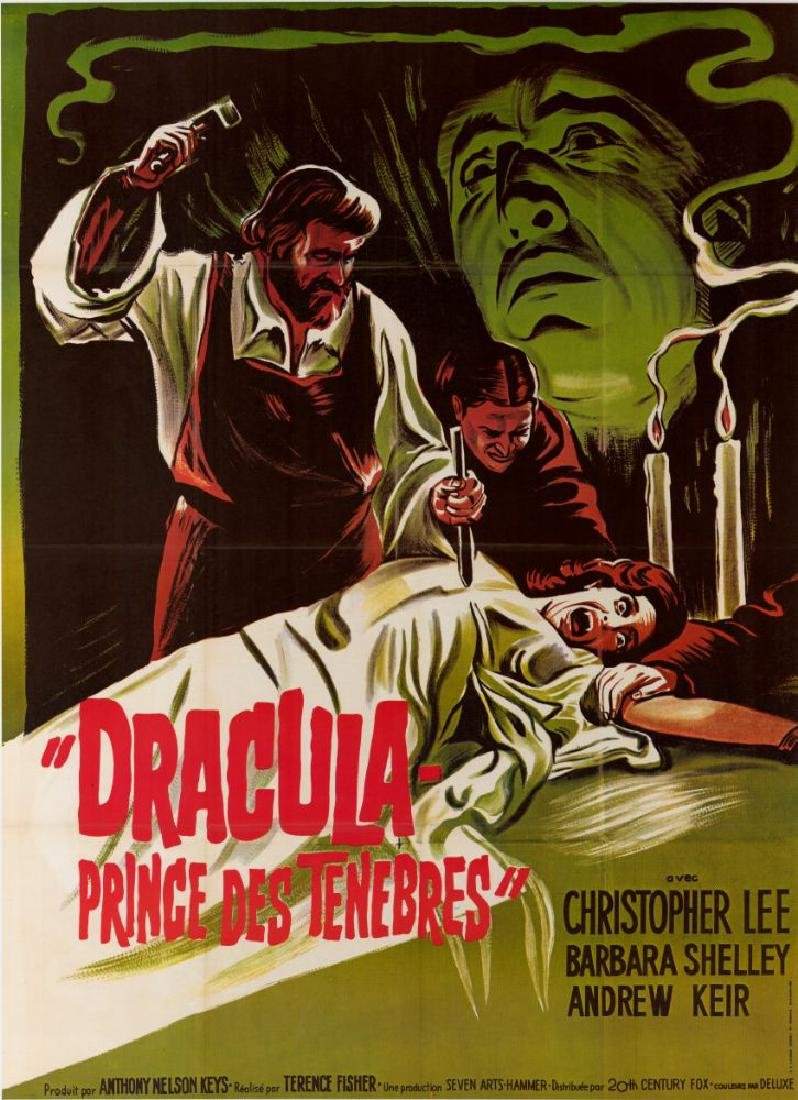 DRACULA PRINCE OF DARKNESS 1966 poster