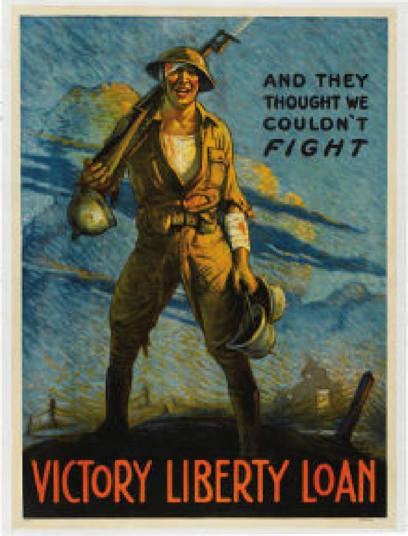 "War Poster ""Victory Liberty Loan"" AP92"