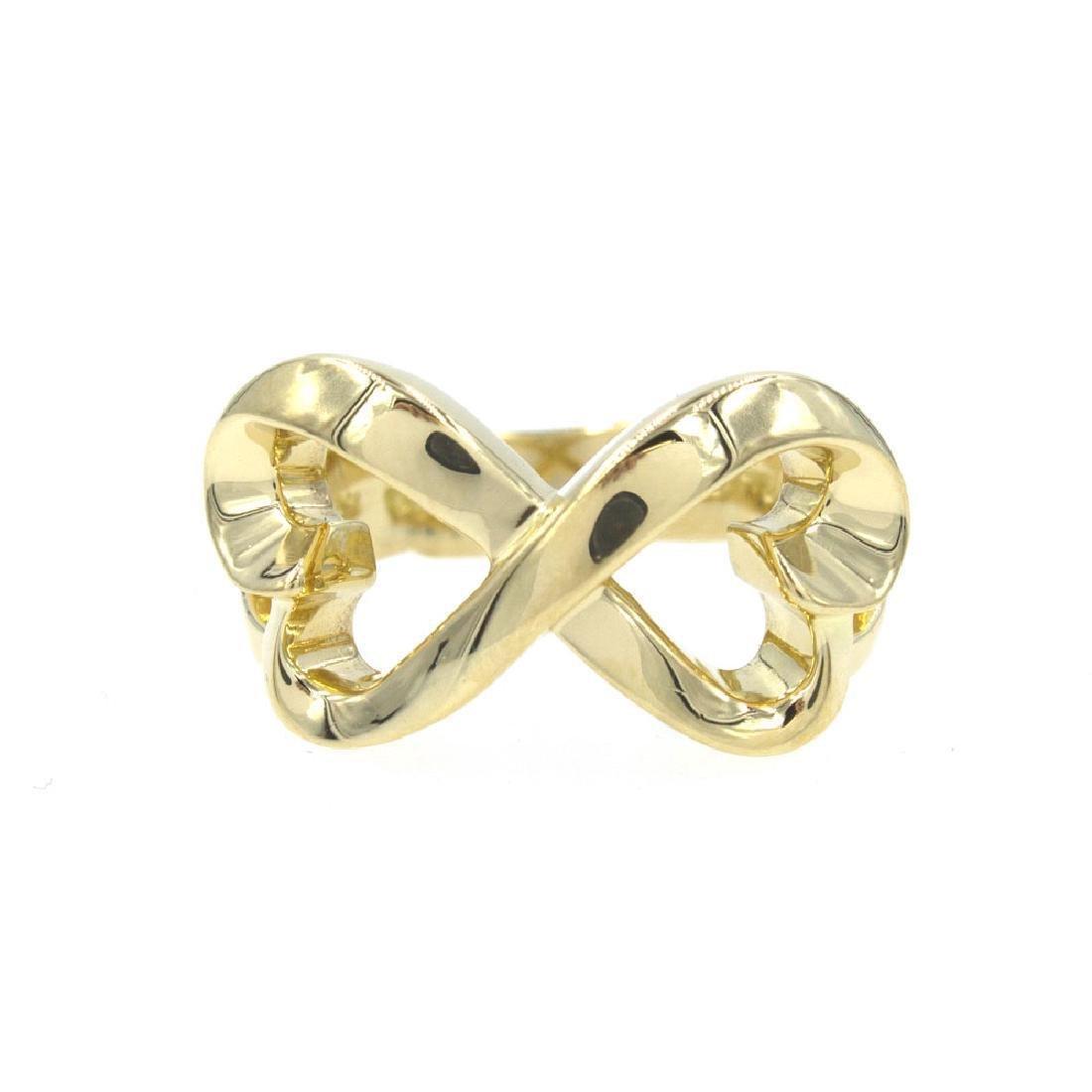 Tiffany & Company Paloma Picasso Double Heart Gold Ring