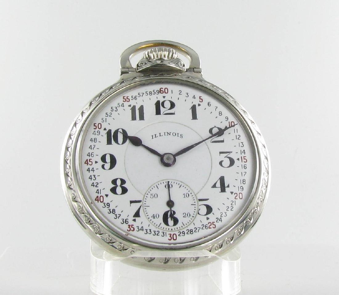 Vintage Bunn Special Railroad Grade Pocketwatch