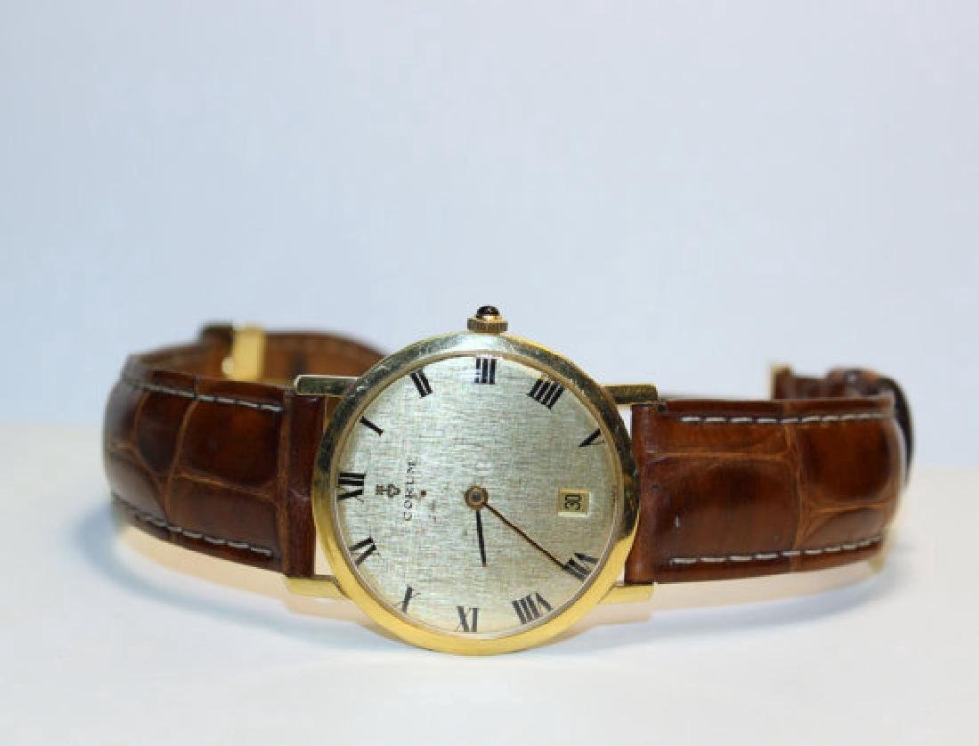 Vintage Corum Automatic 21 Jewels 18 kt gold Watch