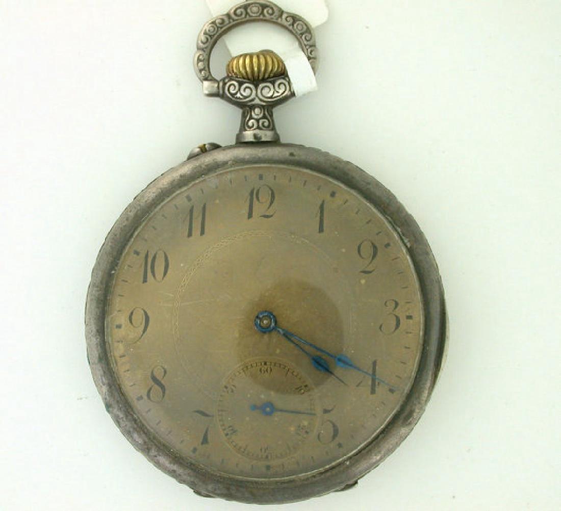 Gustave Eiffel Antique French Art Nouveau Pocket Watch