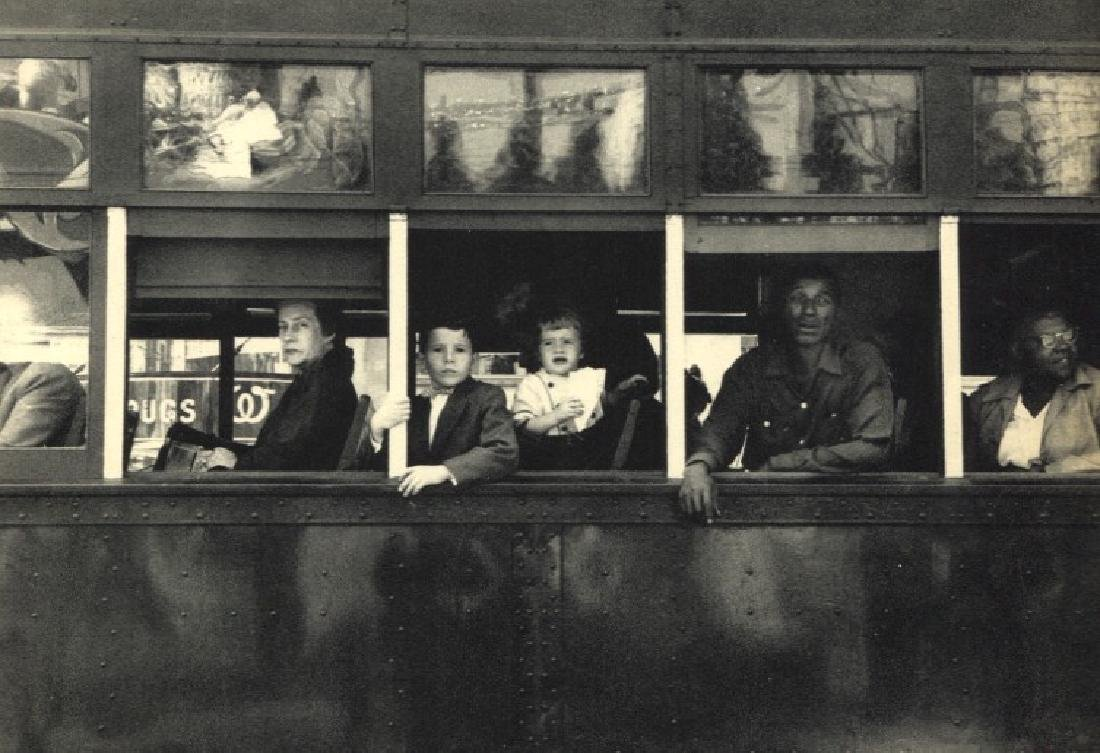 ROBERT FRANK: Trolley, New Orleans