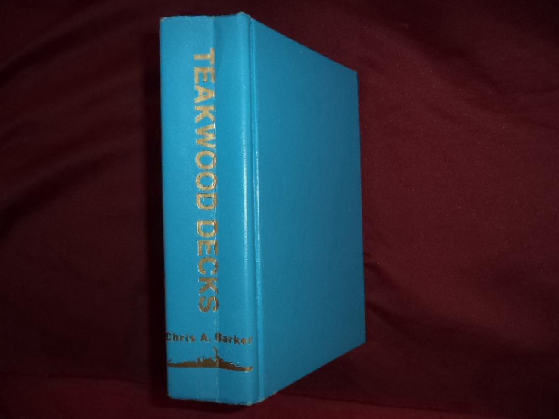 Teakwood Decks, Inscribed, Limited Ed.