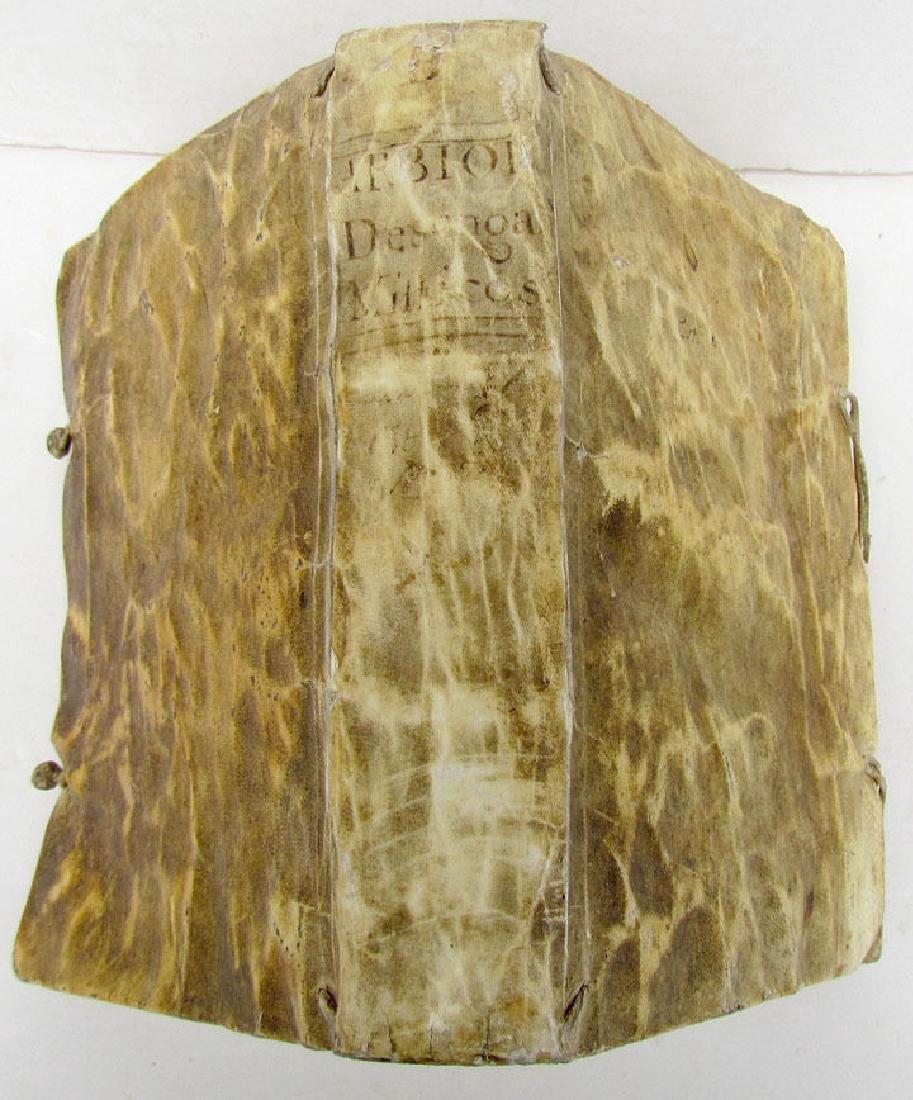 Desenganos Mysticos 1758 Antique Spanish Book