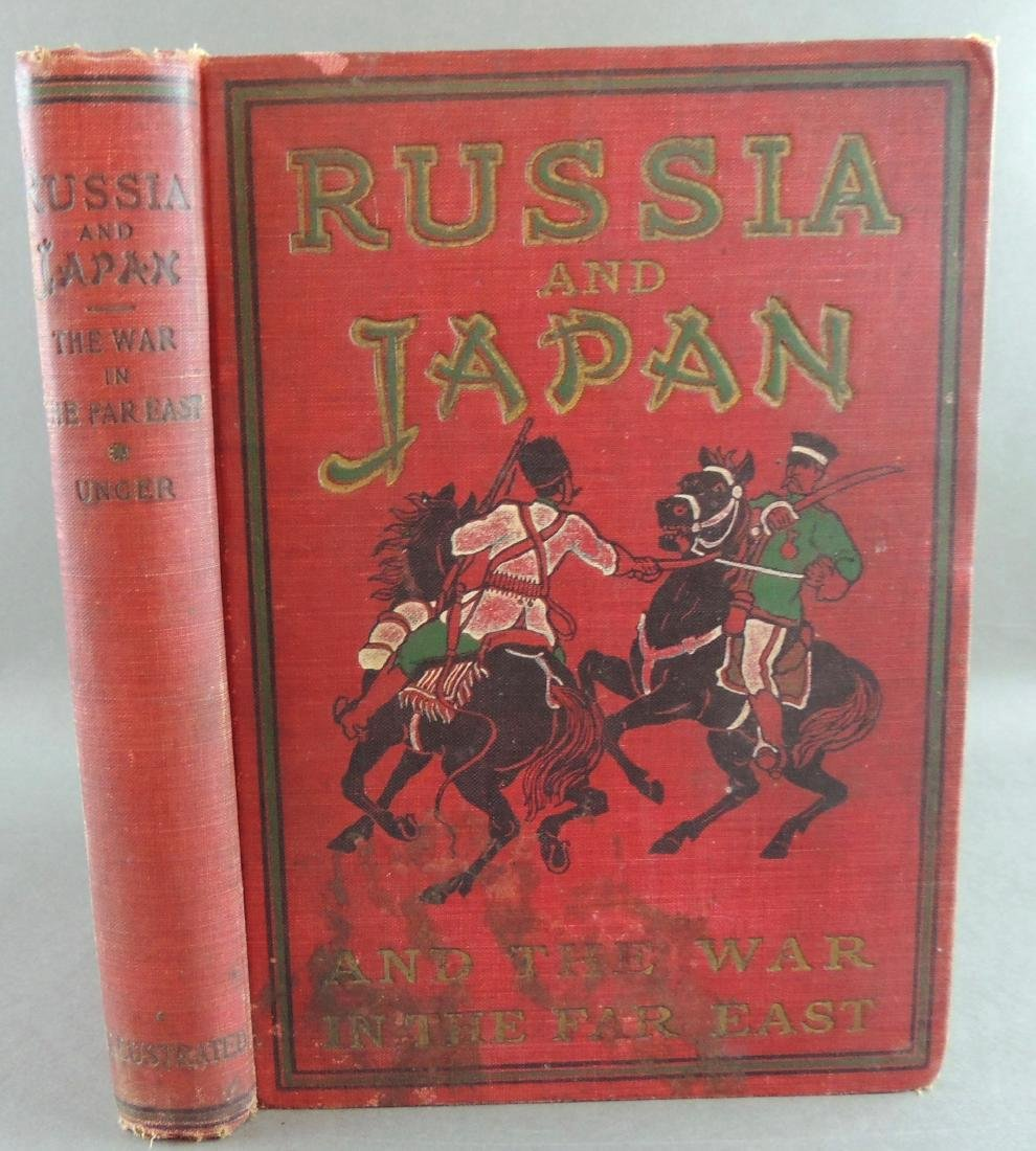 Russia and Japan and the War in the Far East By Unger