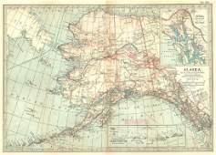 Britannica Map of Alaska & Isles, 1903