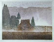 Joshua Rome Japanese Woodblock Print