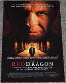 Red Dragon 2002 Original Movie Poster