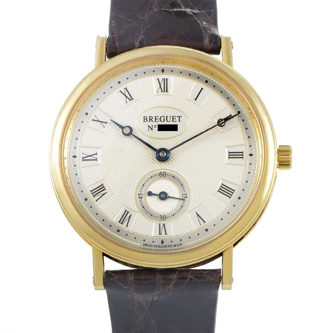 Breguet Classique Manually Wound Yellow Gold Watch