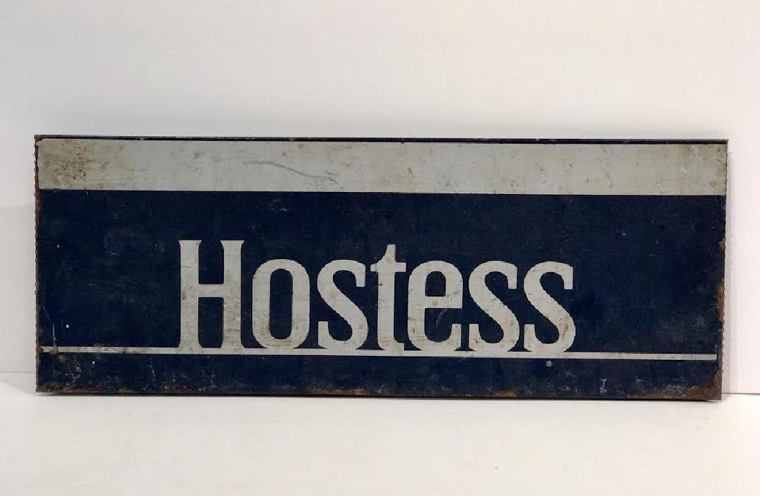 Hostess Metal Store Display Sign
