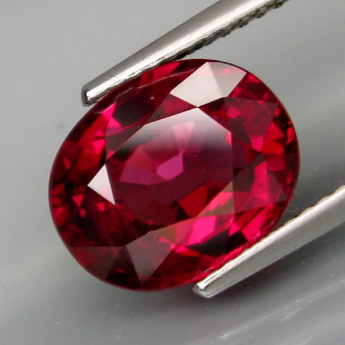 Loose Stone 4.95 Carat Rhodolite Garnet