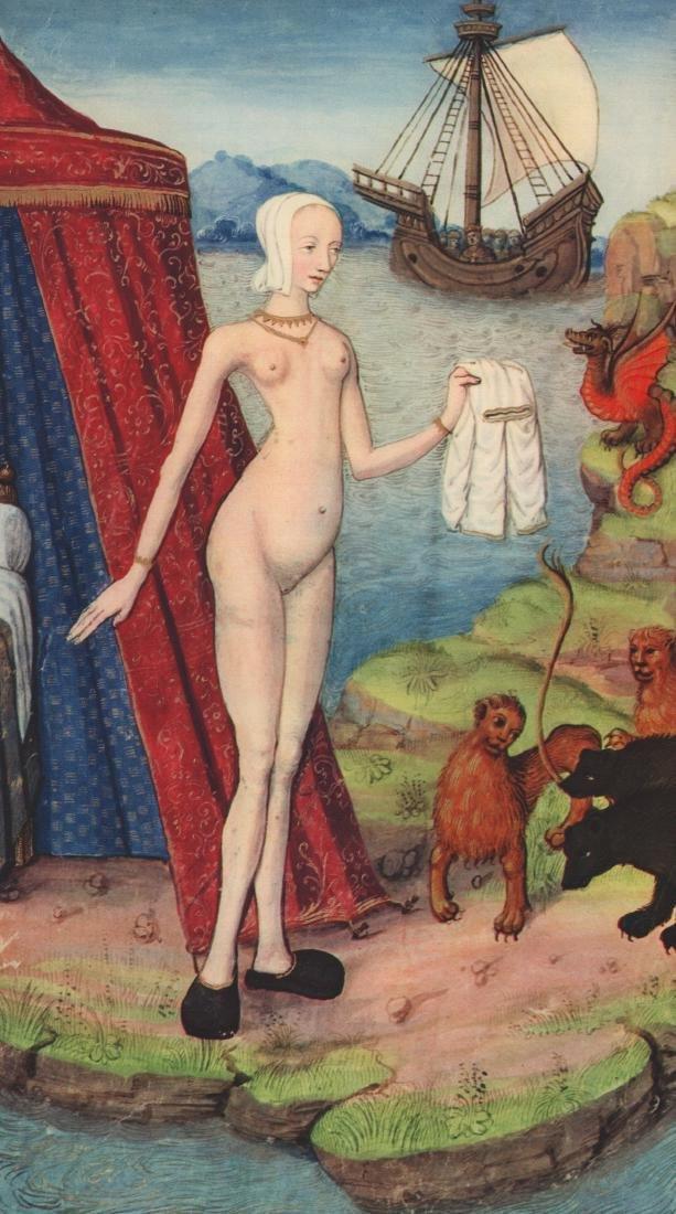 16th Century - Ariadne, Abandoned by Theseus Gravure