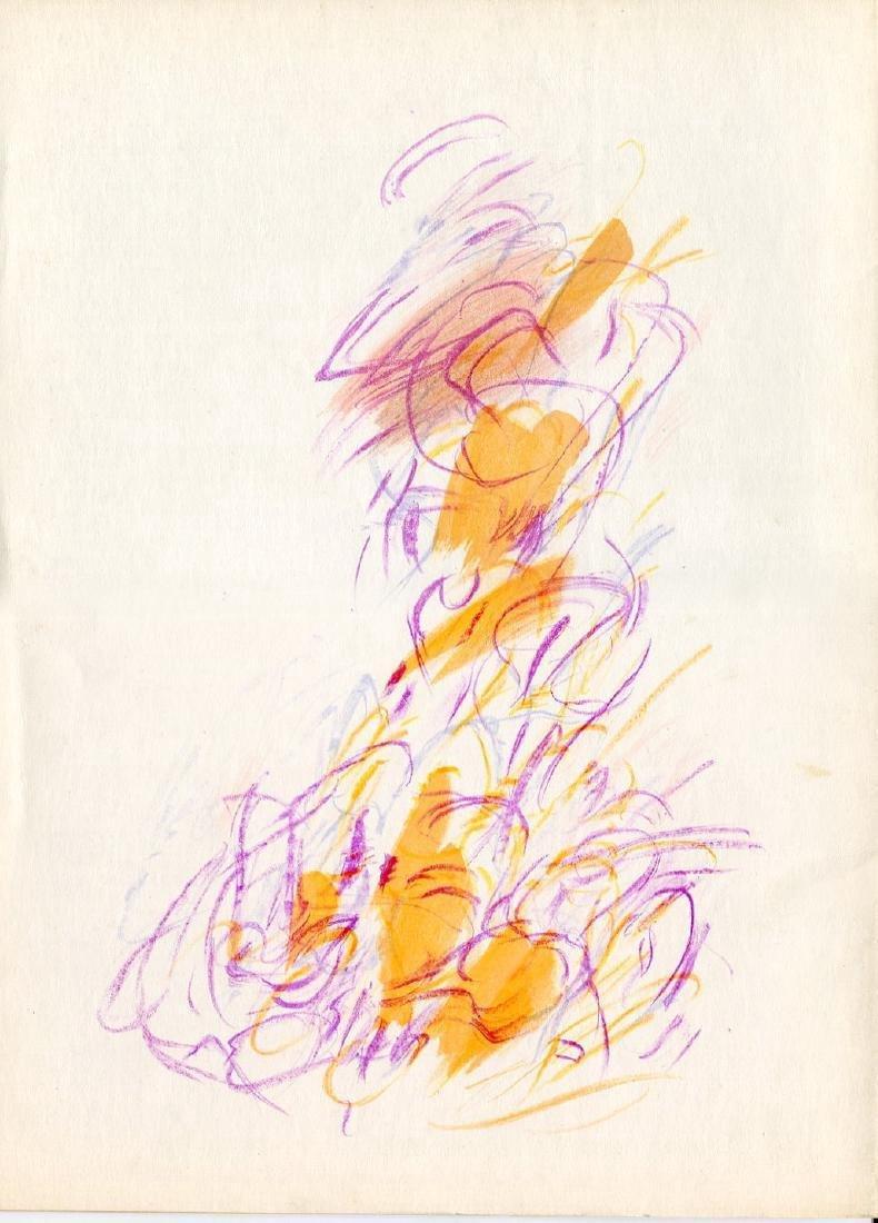 Jean Bazaine - Untitled - Color Lithograph