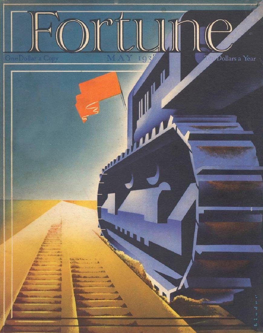 Joseph Binder - 1938 Fortune Cover