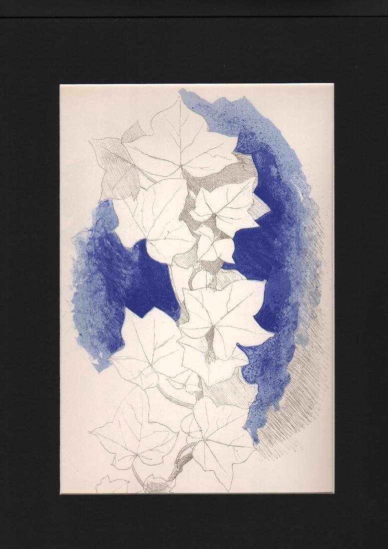 George Braque - Untitled - Color Lithograph