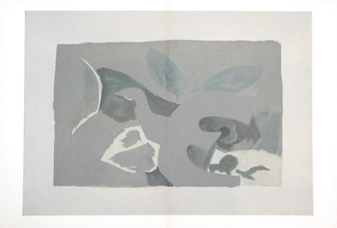 George Braque - Oiseau - Offset Lithograph