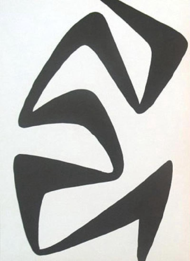 Alexander Calder - Untitled - B&W Lithograph