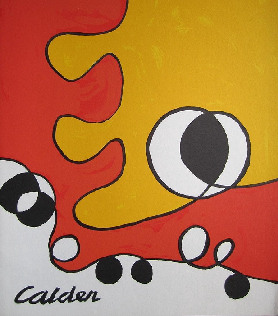 Alexander Calder - Untitled - Cover Lithograph
