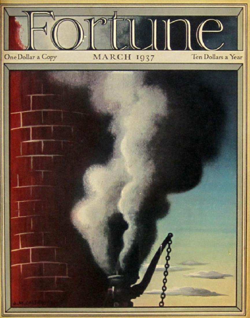 A.M. Cassandre - 1937 Fortune Cover