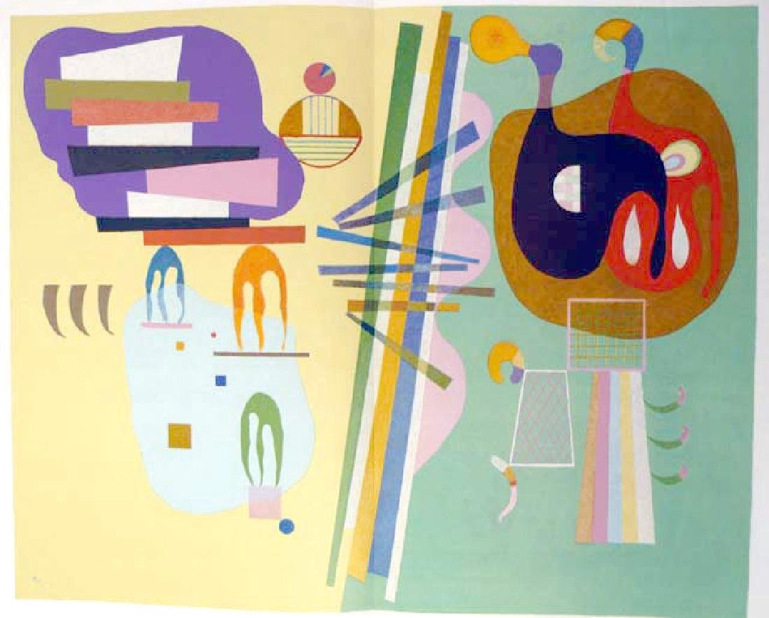 Wassily Kandinsky - Color Lithograph