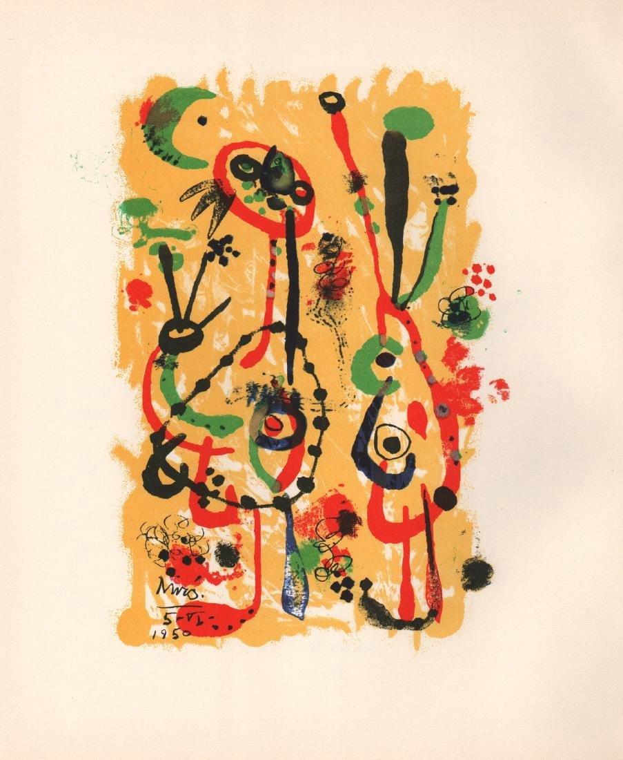 Joan Miro - Offset Litho print
