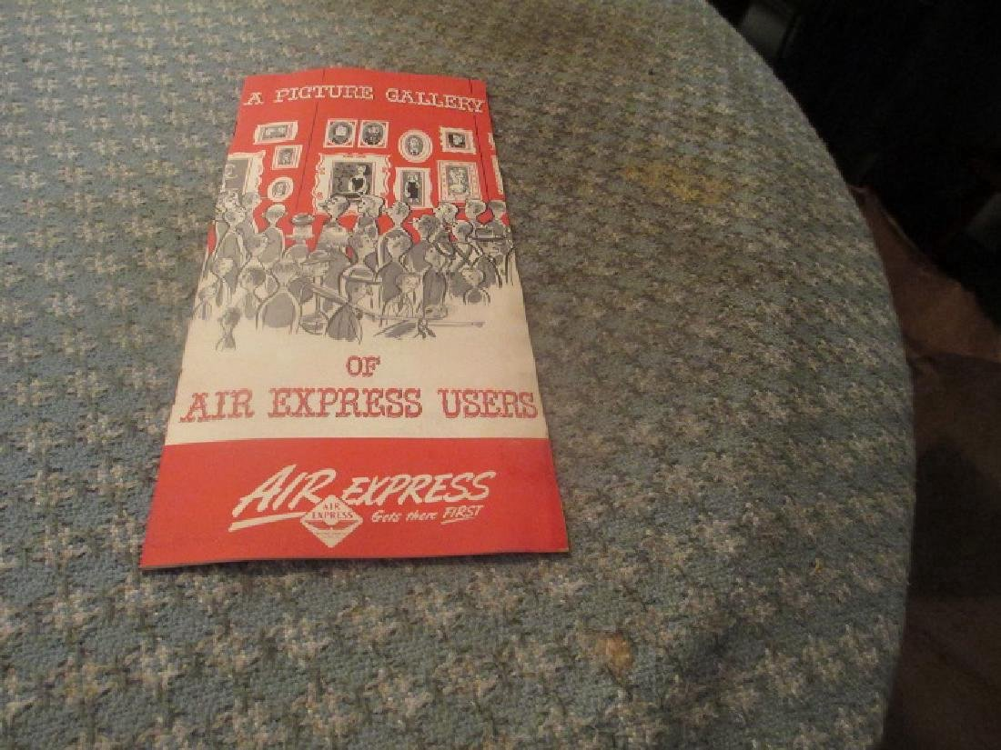 Air Express 1950's Packing Shipping Consumer Pamphlet